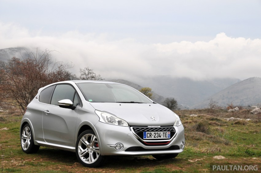 DRIVEN: New Peugeot 208 GTi in the South of France Image #179086