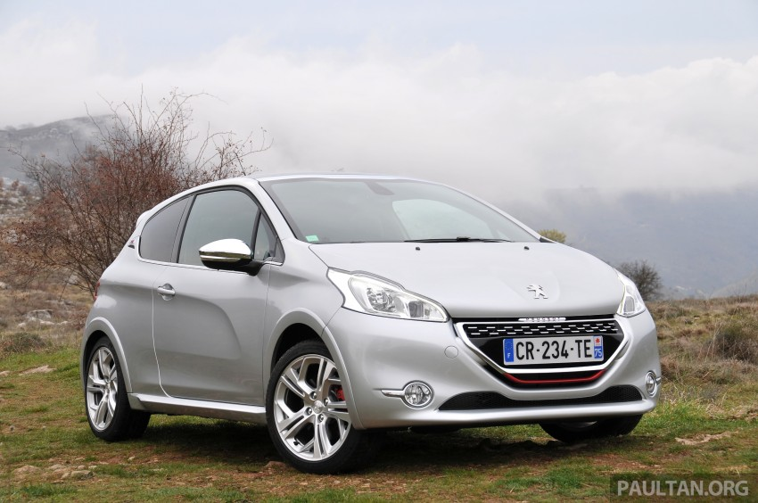 DRIVEN: New Peugeot 208 GTi in the South of France Image #179087