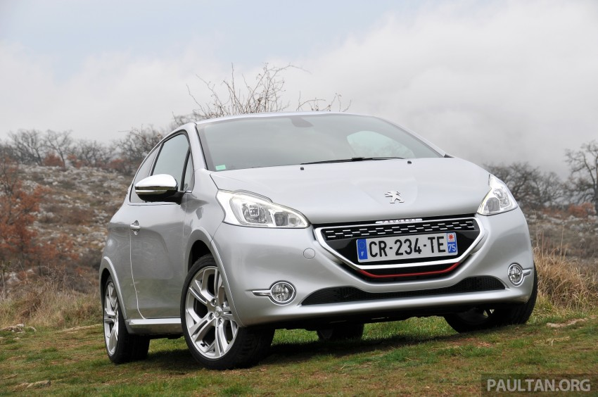 DRIVEN: New Peugeot 208 GTi in the South of France Image #179088