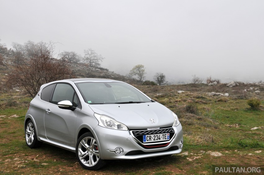 DRIVEN: New Peugeot 208 GTi in the South of France Image #179089