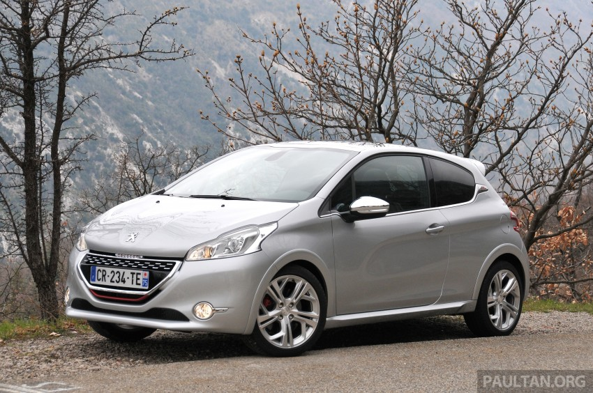 DRIVEN: New Peugeot 208 GTi in the South of France Image #179092