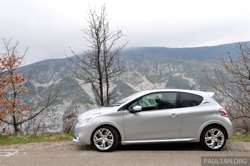 DRIVEN: New Peugeot 208 GTi in the South of France Image #179093