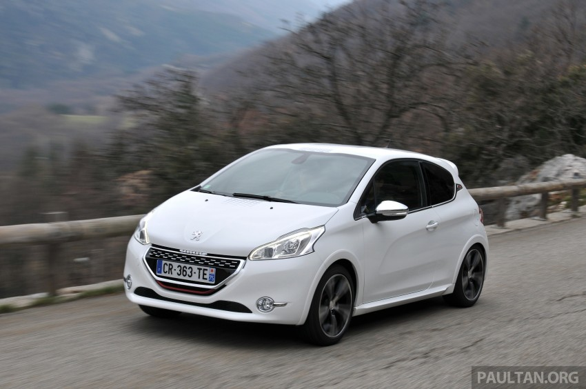 DRIVEN: New Peugeot 208 GTi in the South of France Image #179096