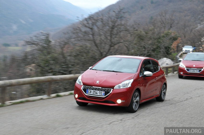 DRIVEN: New Peugeot 208 GTi in the South of France Image #179097