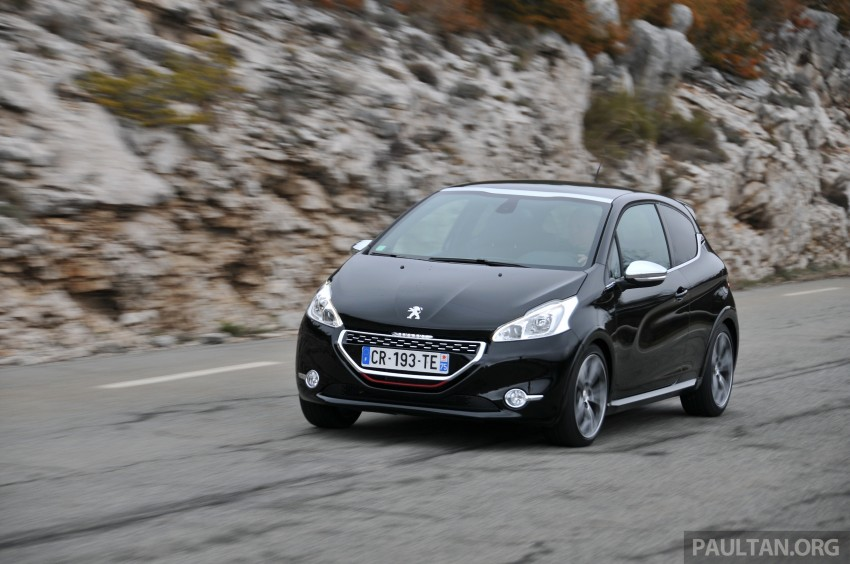 DRIVEN: New Peugeot 208 GTi in the South of France Image #179099