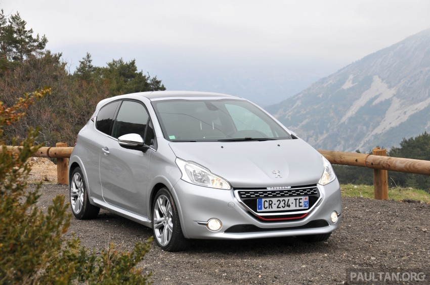 DRIVEN: New Peugeot 208 GTi in the South of France Image #179103