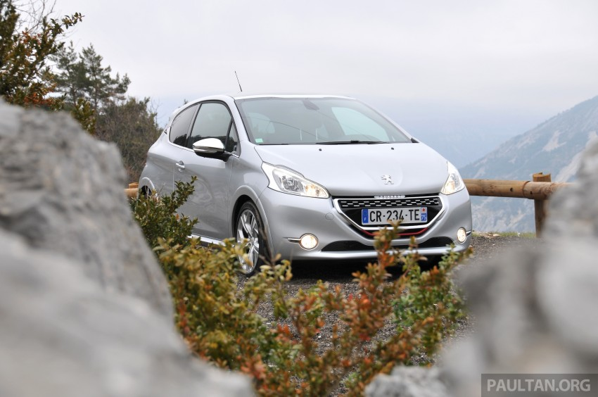 DRIVEN: New Peugeot 208 GTi in the South of France Image #179104