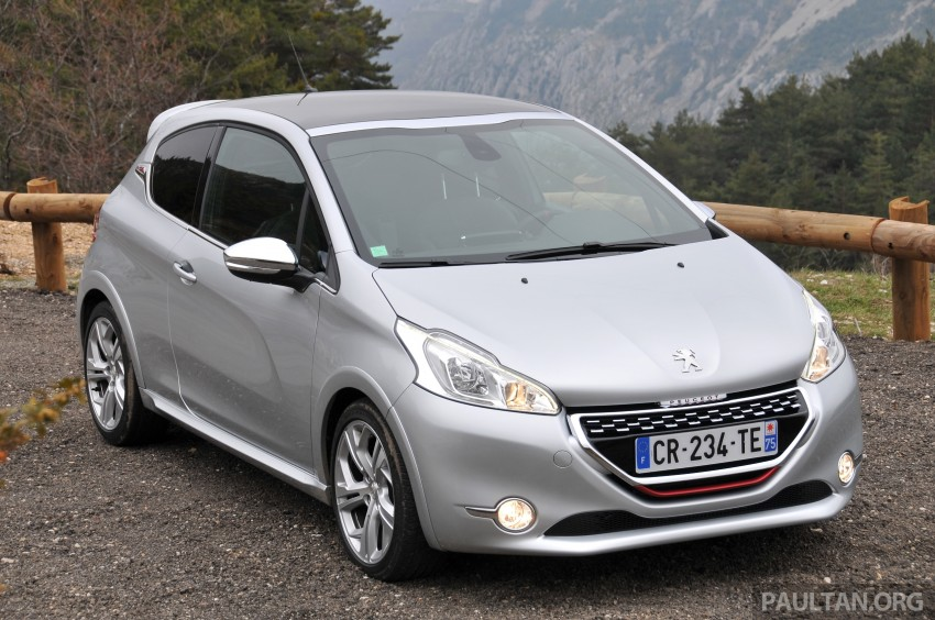 DRIVEN: New Peugeot 208 GTi in the South of France Image #179105
