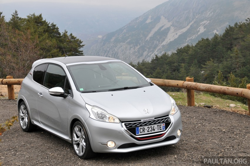 DRIVEN: New Peugeot 208 GTi in the South of France Image #179106