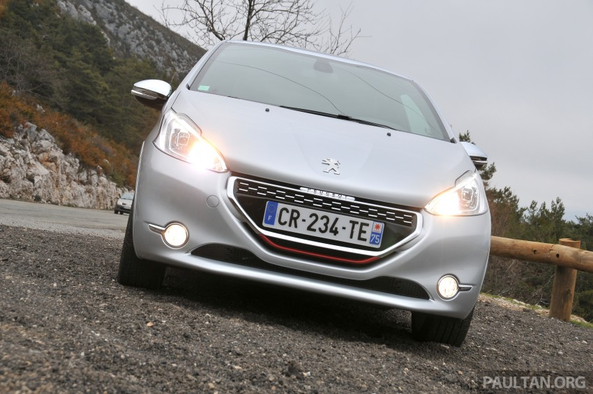 DRIVEN: New Peugeot 208 GTi in the South of France Image #179107