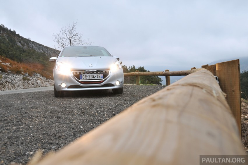 DRIVEN: New Peugeot 208 GTi in the South of France Image #179108