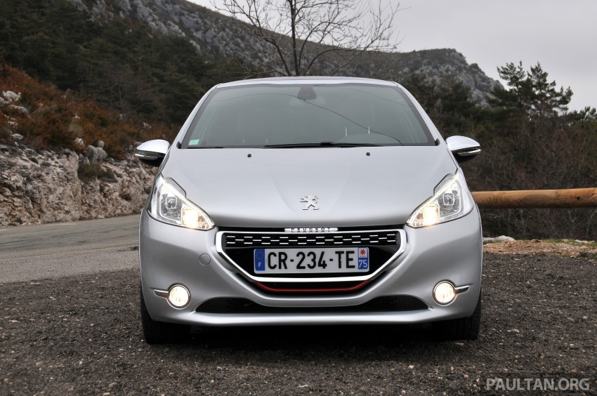 DRIVEN: New Peugeot 208 GTi in the South of France Image #179109