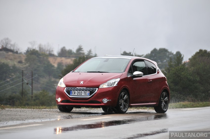 DRIVEN: New Peugeot 208 GTi in the South of France Image #179115