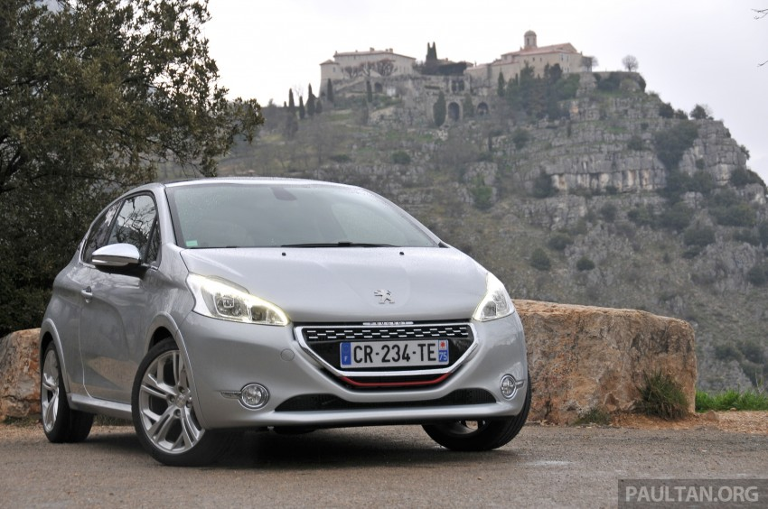 DRIVEN: New Peugeot 208 GTi in the South of France Image #179116