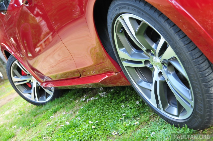 DRIVEN: New Peugeot 208 GTi in the South of France Image #179137