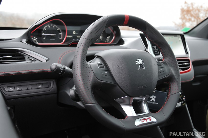 DRIVEN: New Peugeot 208 GTi in the South of France Image #179176