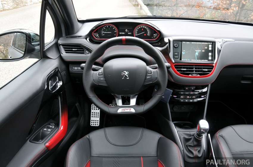 DRIVEN: New Peugeot 208 GTi in the South of France Image #179183