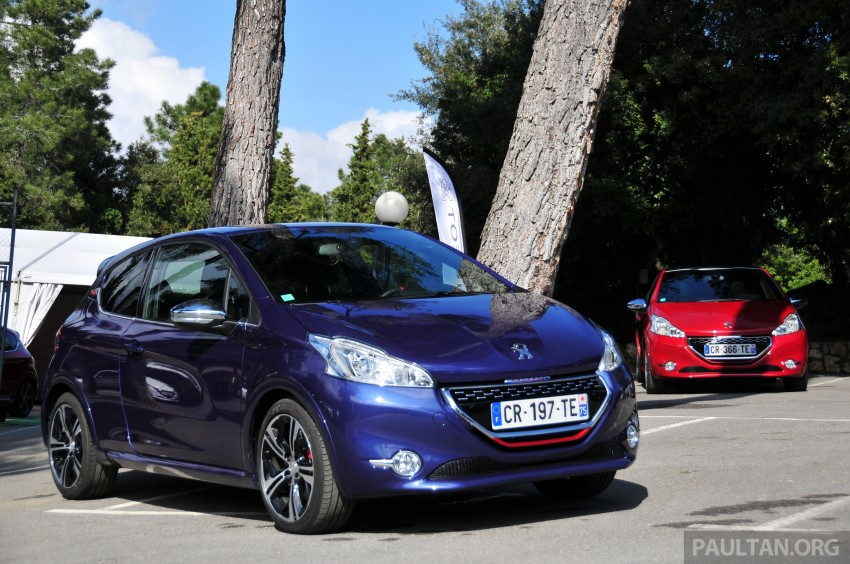 DRIVEN: New Peugeot 208 GTi in the South of France Image #179199