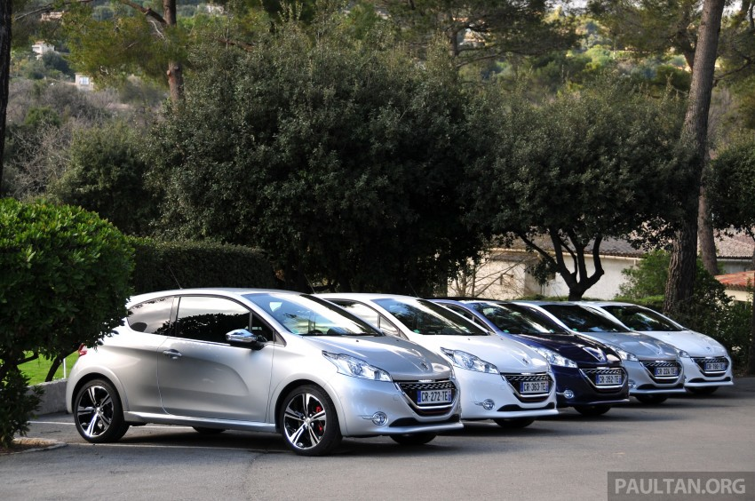 DRIVEN: New Peugeot 208 GTi in the South of France Image #179200