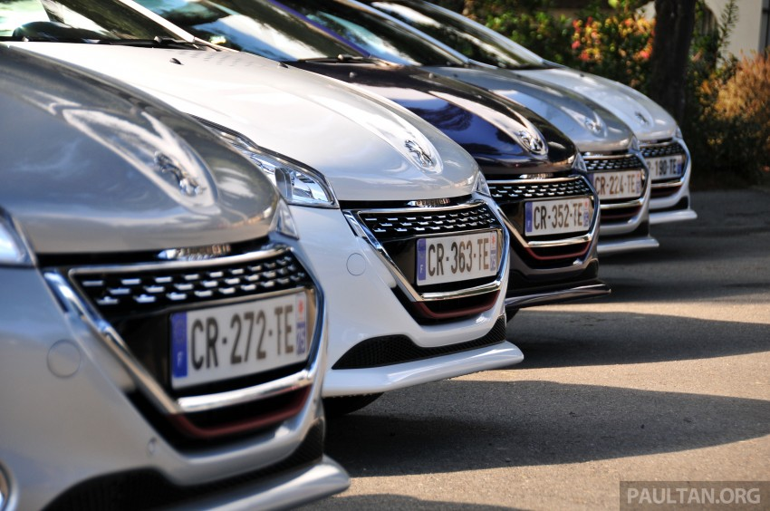 DRIVEN: New Peugeot 208 GTi in the South of France Image #179201