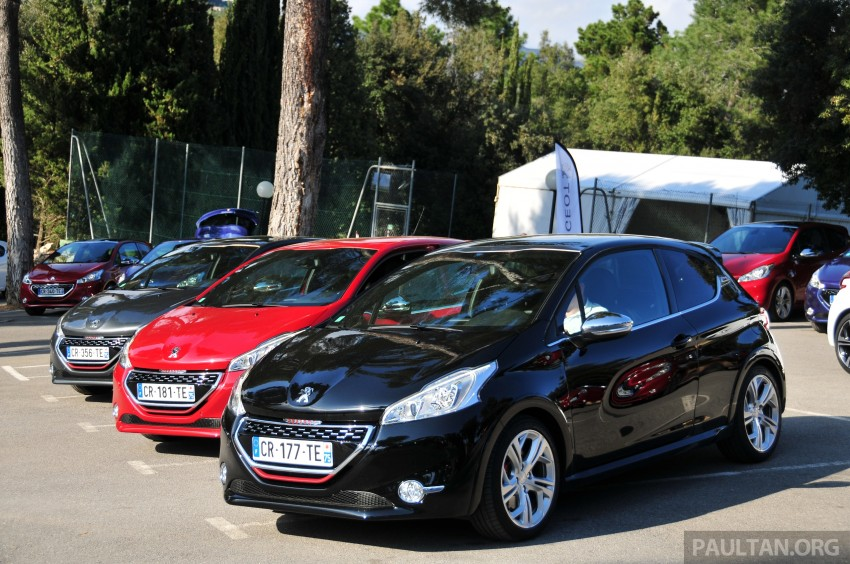 DRIVEN: New Peugeot 208 GTi in the South of France Image #179202