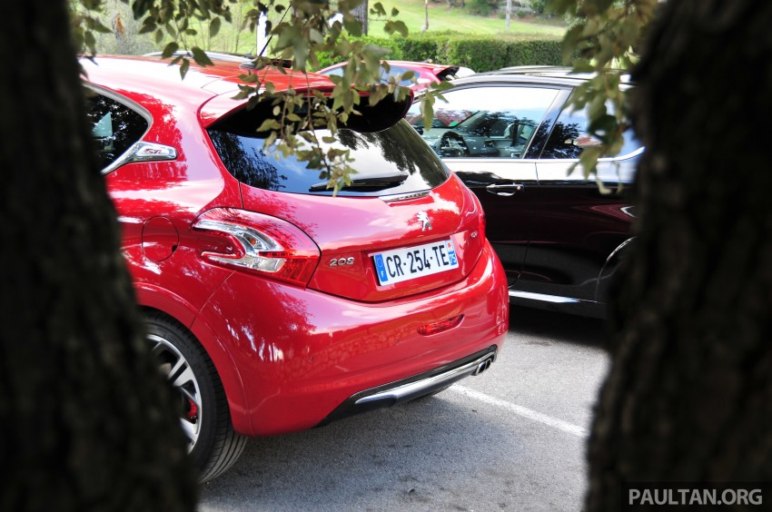 DRIVEN: New Peugeot 208 GTi in the South of France Image #179203
