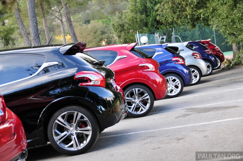 DRIVEN: New Peugeot 208 GTi in the South of France Image #179204