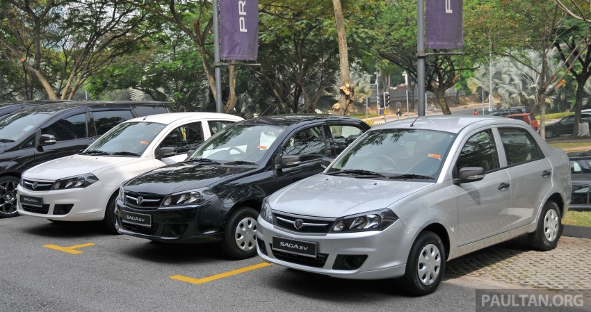 Proton Saga SV launched – from RM33,438 OTR Image #180530
