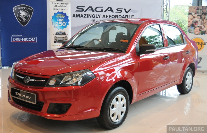 Proton Saga SV launched – from RM33,438 OTR Image #180531