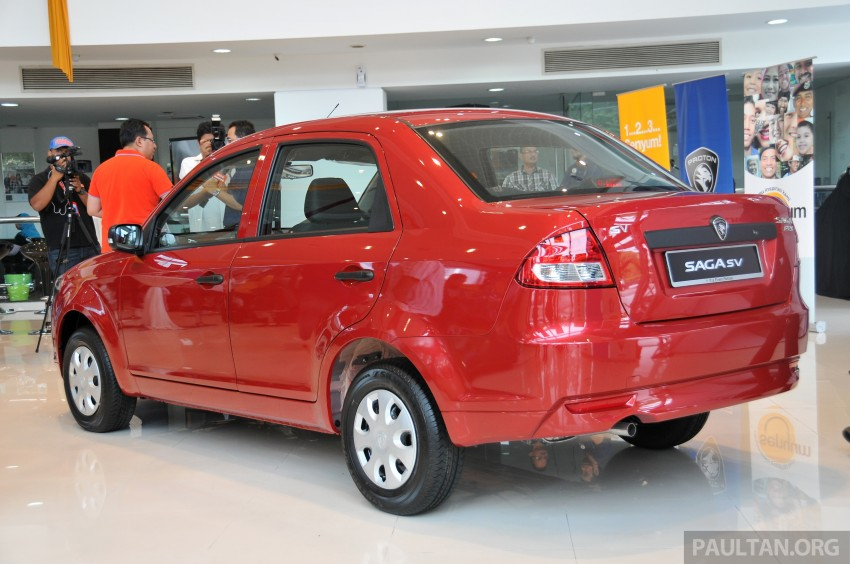 Proton Saga SV launched – from RM33,438 OTR Image #180532