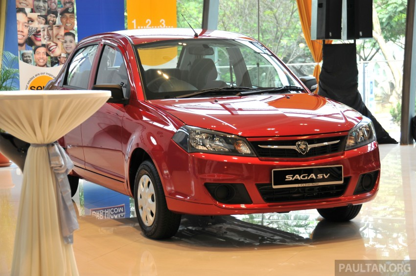 Proton Saga SV launched – from RM33,438 OTR Image #180533