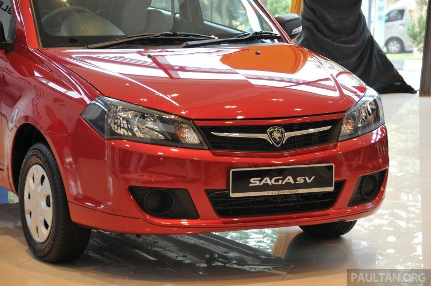 Proton Saga SV launched – from RM33,438 OTR Image #180534