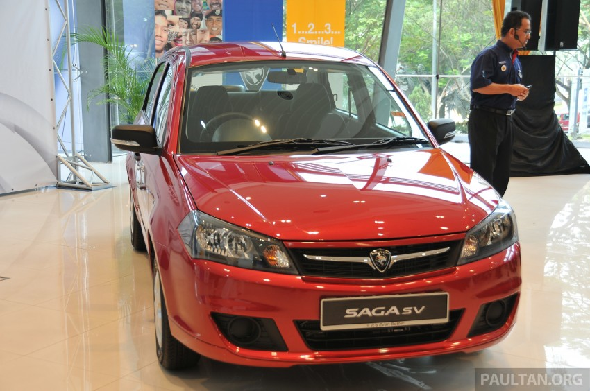 Proton Saga SV launched – from RM33,438 OTR Image #180535