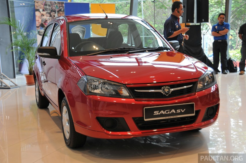 Proton Saga SV launched – from RM33,438 OTR Image #180536
