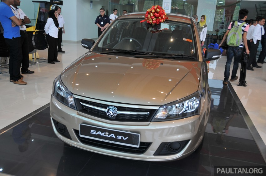 Proton Saga SV launched – from RM33,438 OTR Image #180542