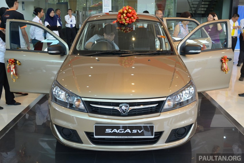 Proton Saga SV launched – from RM33,438 OTR Image #180543