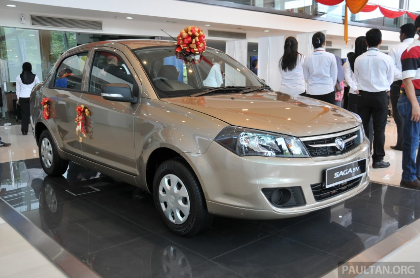 Proton Saga SV launched – from RM33,438 OTR Image #180544