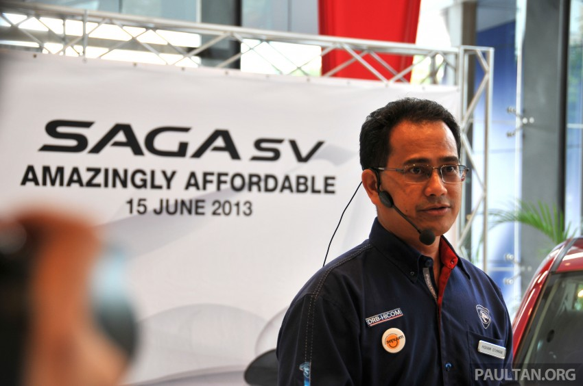 Proton Saga SV launched – from RM33,438 OTR Image #180553