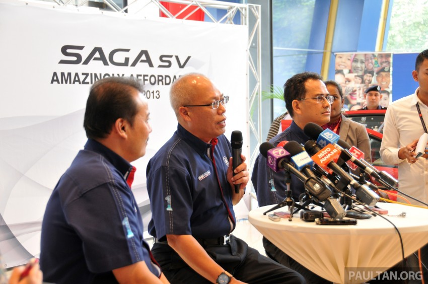 Proton Saga SV launched – from RM33,438 OTR Image #180555