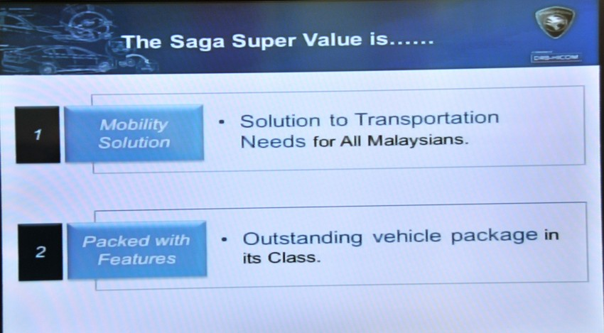 Proton Saga SV launched – from RM33,438 OTR Image #180569