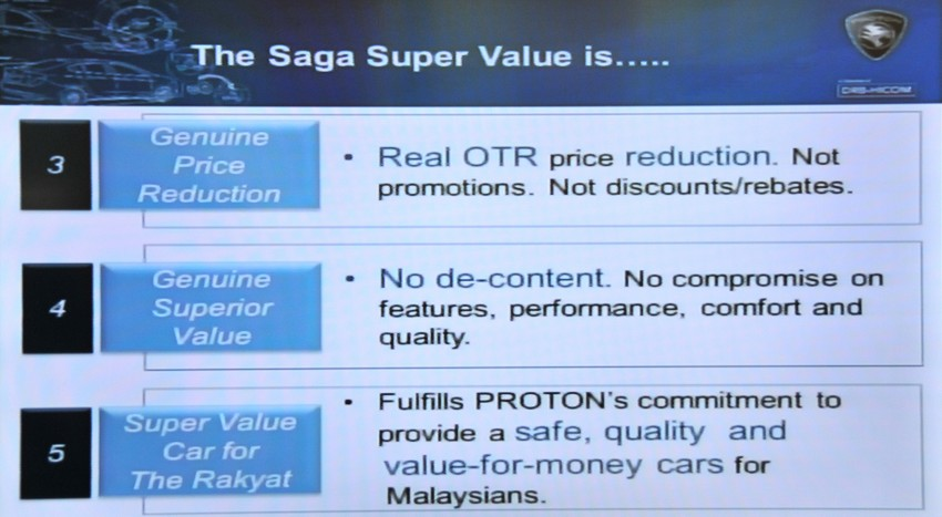 Proton Saga SV launched – from RM33,438 OTR Image #180587