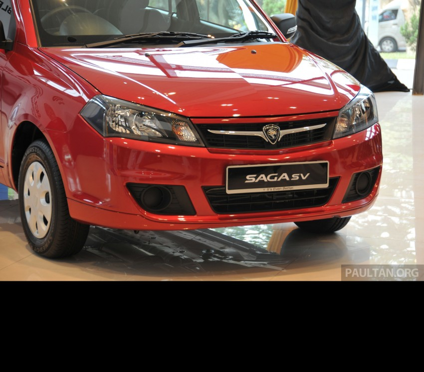Proton Saga SV launched – from RM33,438 OTR Image #180656