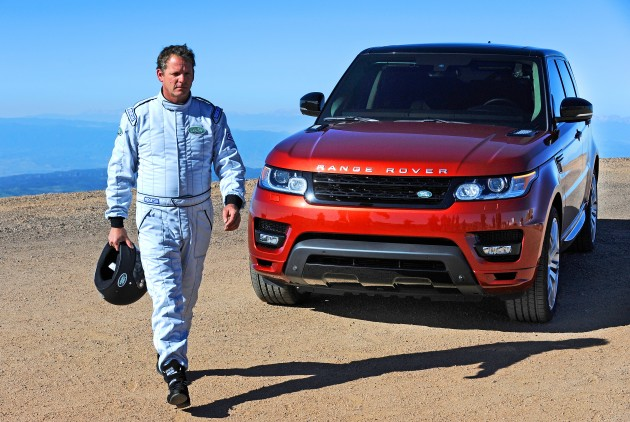 Range Rover Sport sets record at Pikes Peak