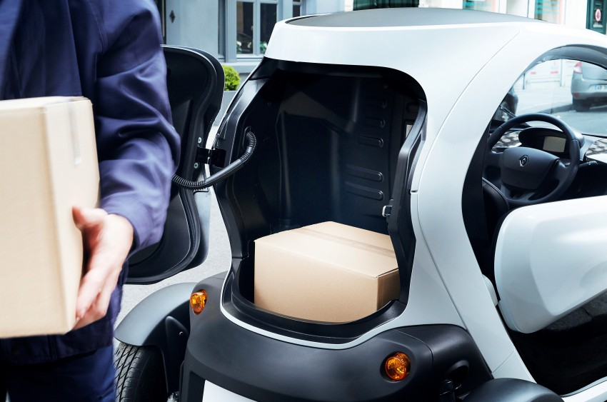 Renault Twizy Cargo – an EV for business users Image #182532