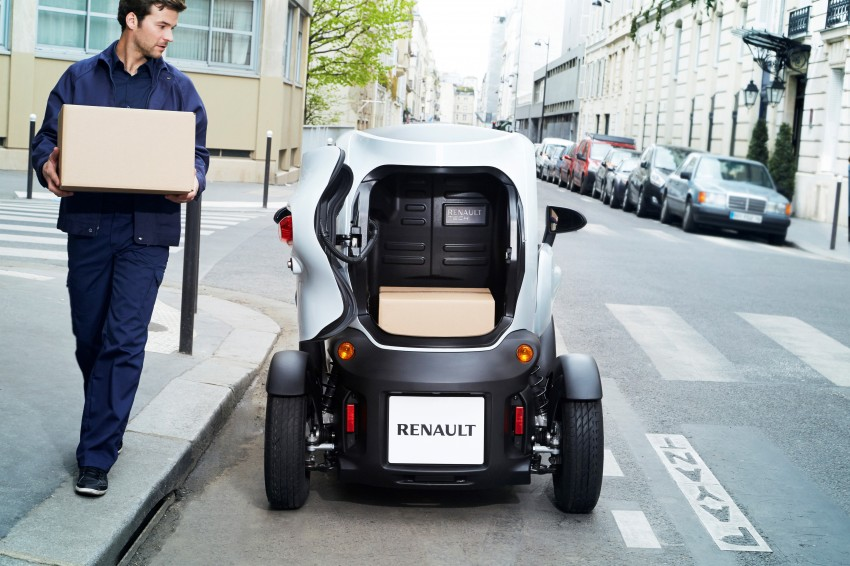 Renault Twizy Cargo – an EV for business users Image #182533