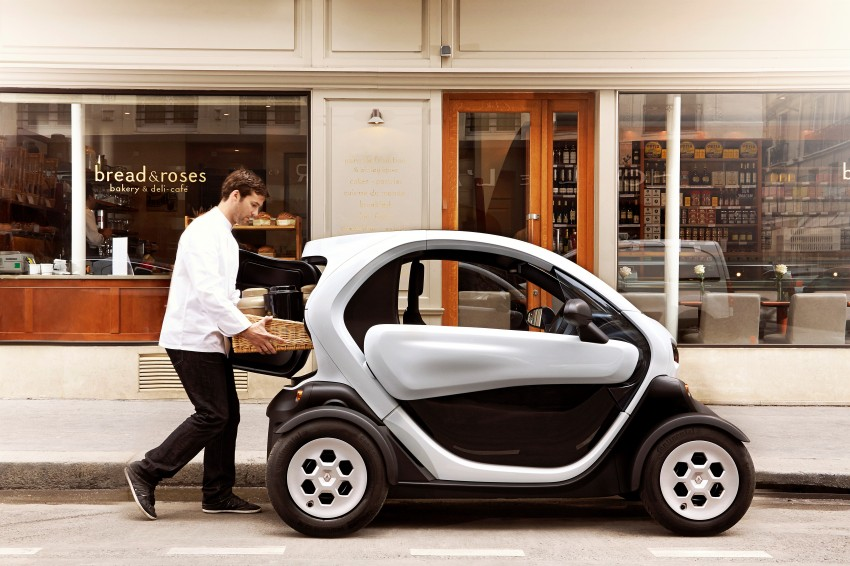 Renault Twizy Cargo – an EV for business users Image #182534