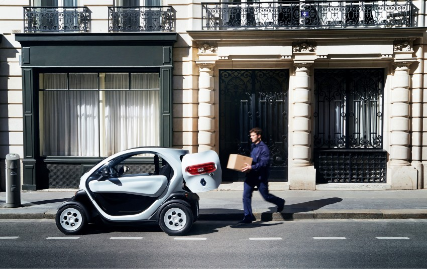 Renault Twizy Cargo – an EV for business users Image #182535