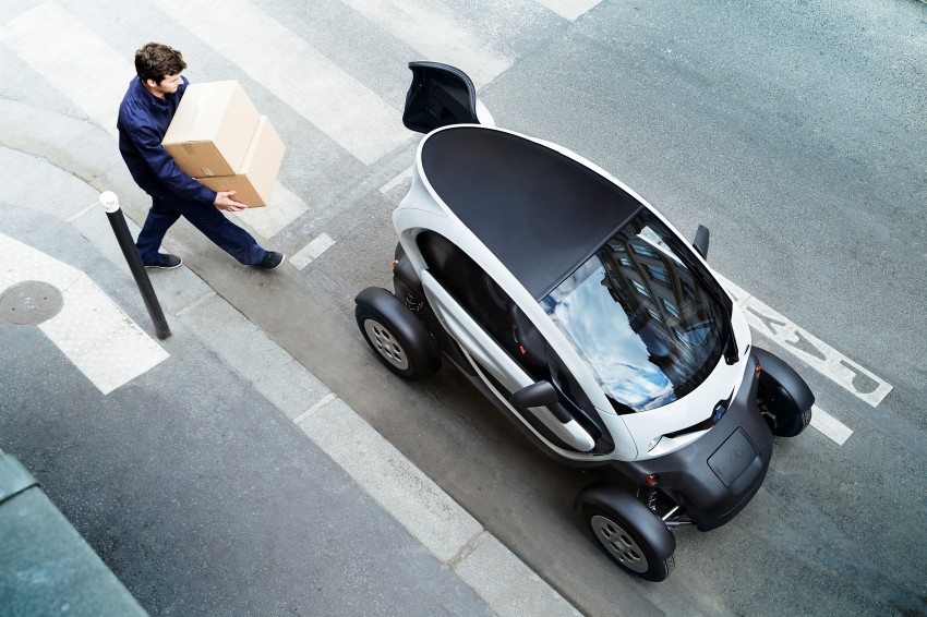 Renault Twizy Cargo – an EV for business users Image #182536