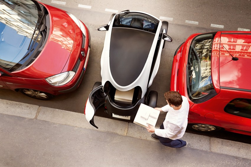 Renault Twizy Cargo – an EV for business users Image #182537