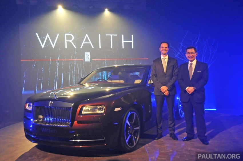 Rolls-Royce Wraith launched – RM1.3 million onwards Image #180995